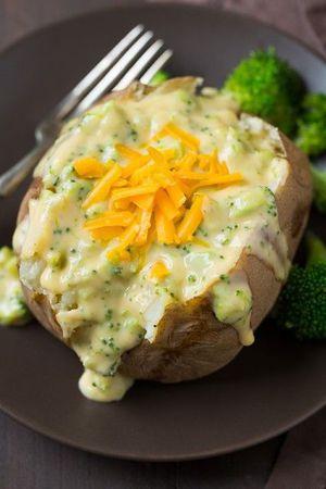 plnené pečené zemiaky