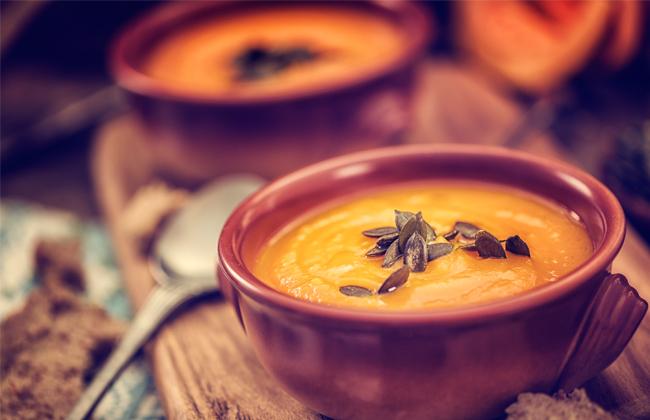 kurbis-suppe